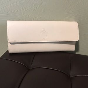 Light Blush Leather Pandora Jewelry Wallet